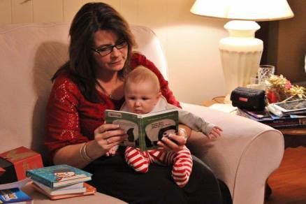Nana Reading to Noelan